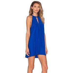 Amanda Uprichard Blue Party Dress